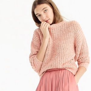 J. Crew Point Sur chunky ribbed crewneck sweater M